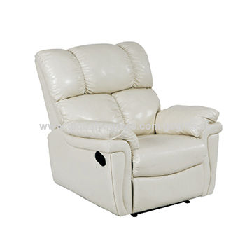 Recliner sofas with PU leather, logo and color can be customized